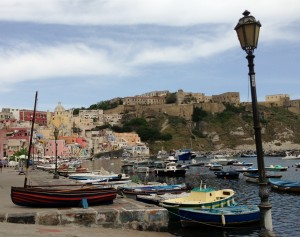 Marina Corricella Procida island Italy