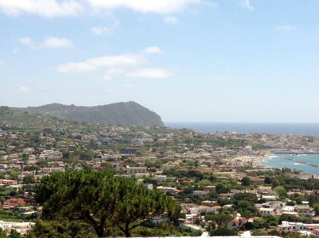 views from  Giardini La Mortella, Ischia, Italy