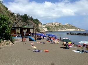 beach procida island italy