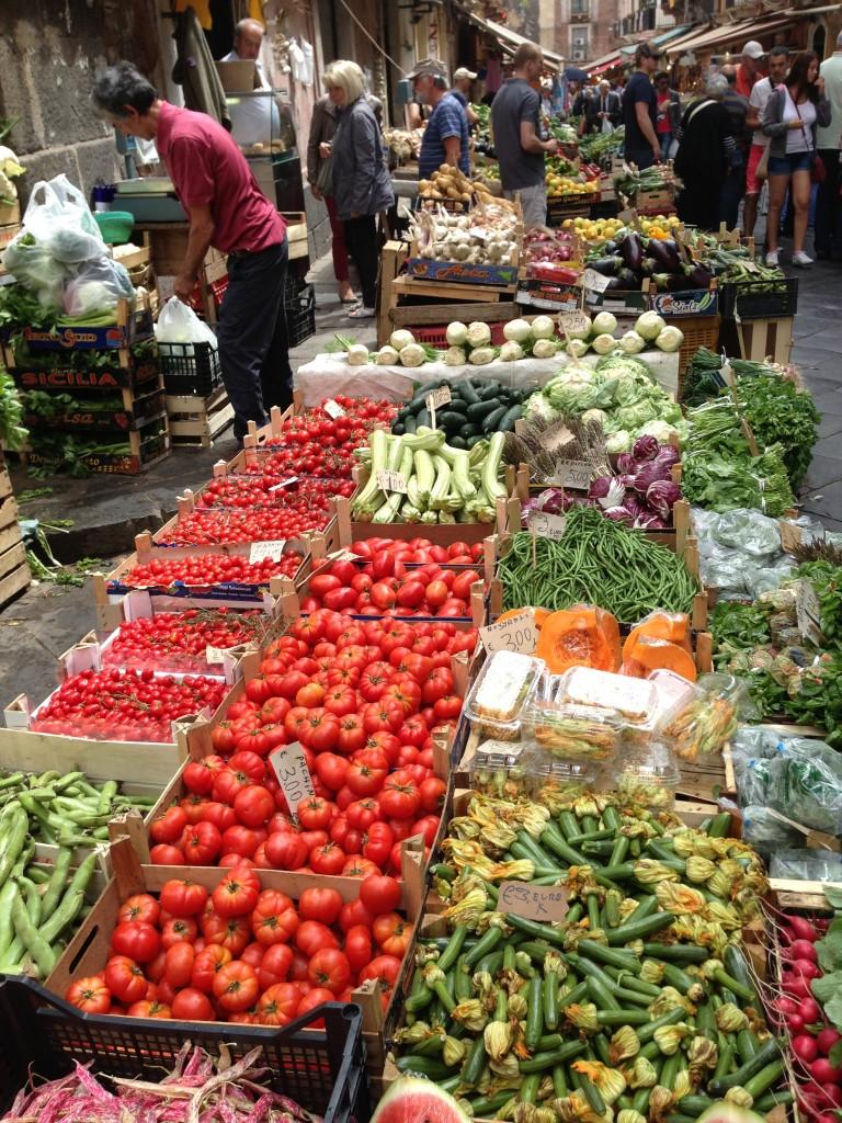 food market Catania Sicily