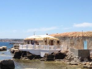 Restaurant in Marzamemi, Sicily