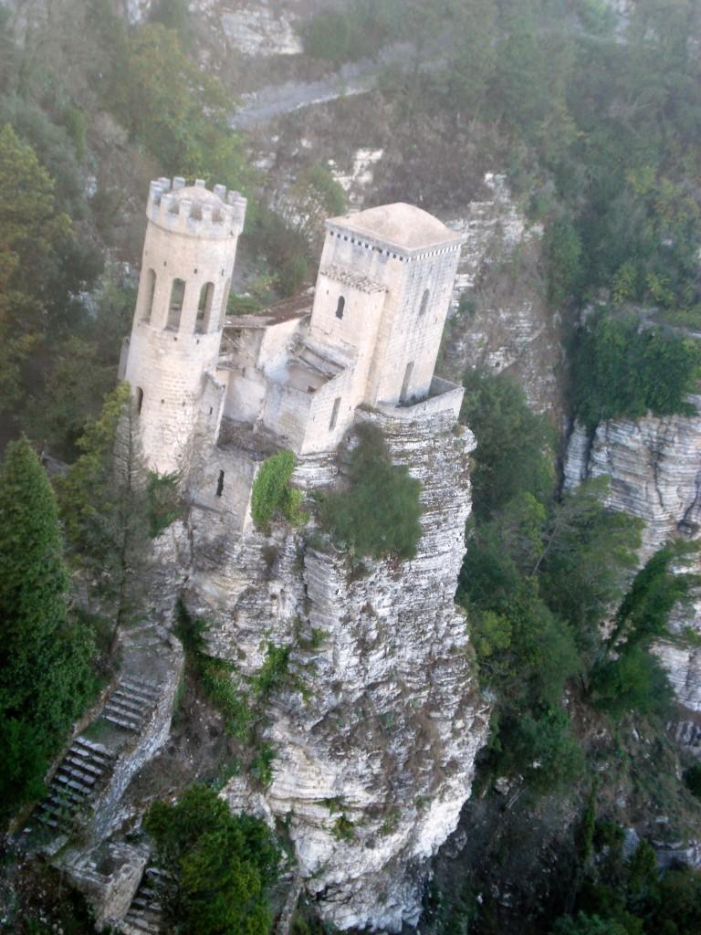 Erice castle Sicily