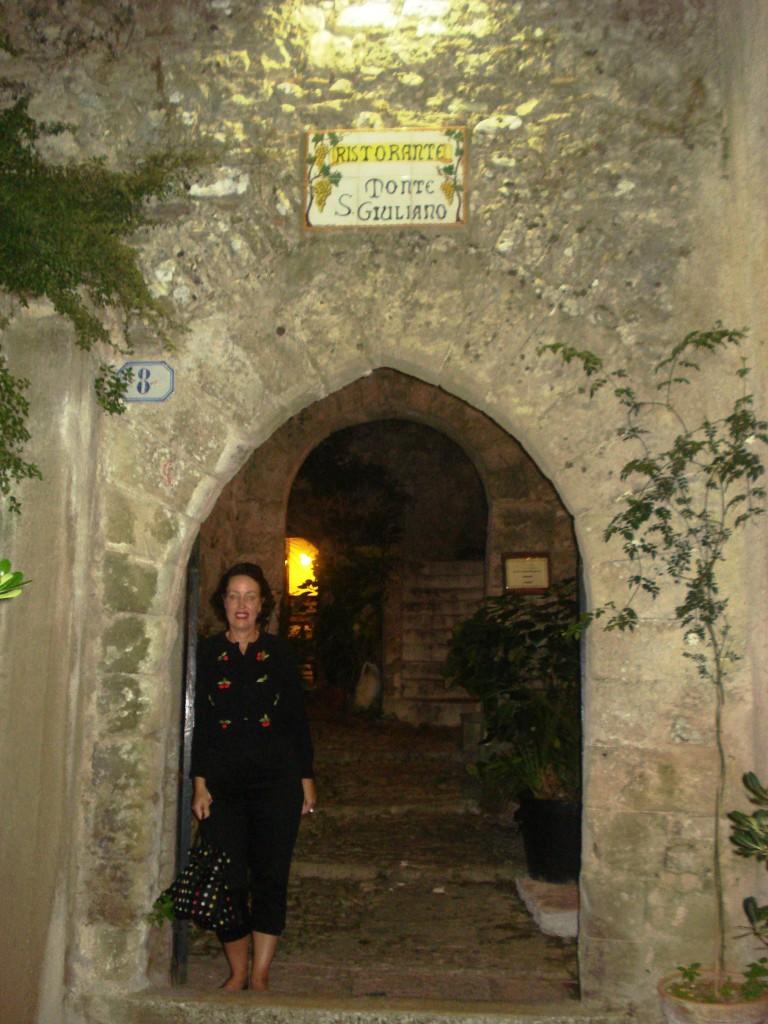 Ristorante Monte S.Giuliano in Erice, Sicily