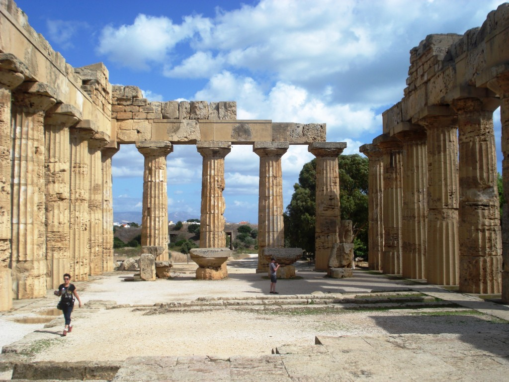 greek temple selinunte sicily