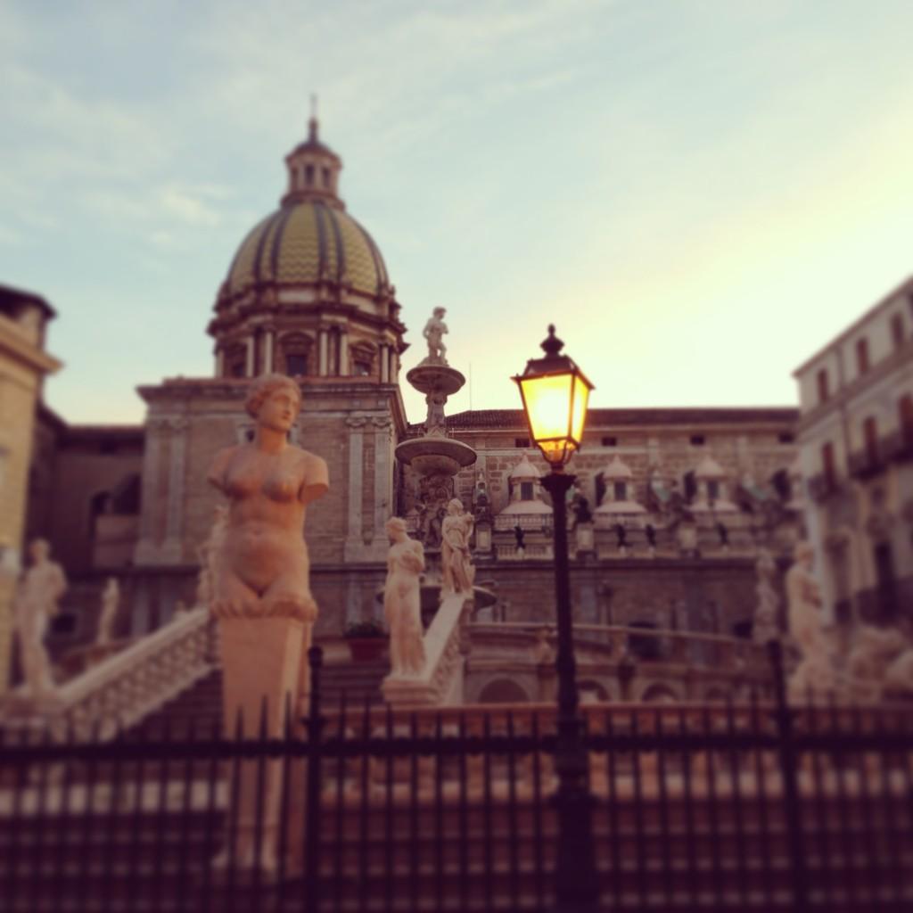 piazza pretoria palermo sicily
