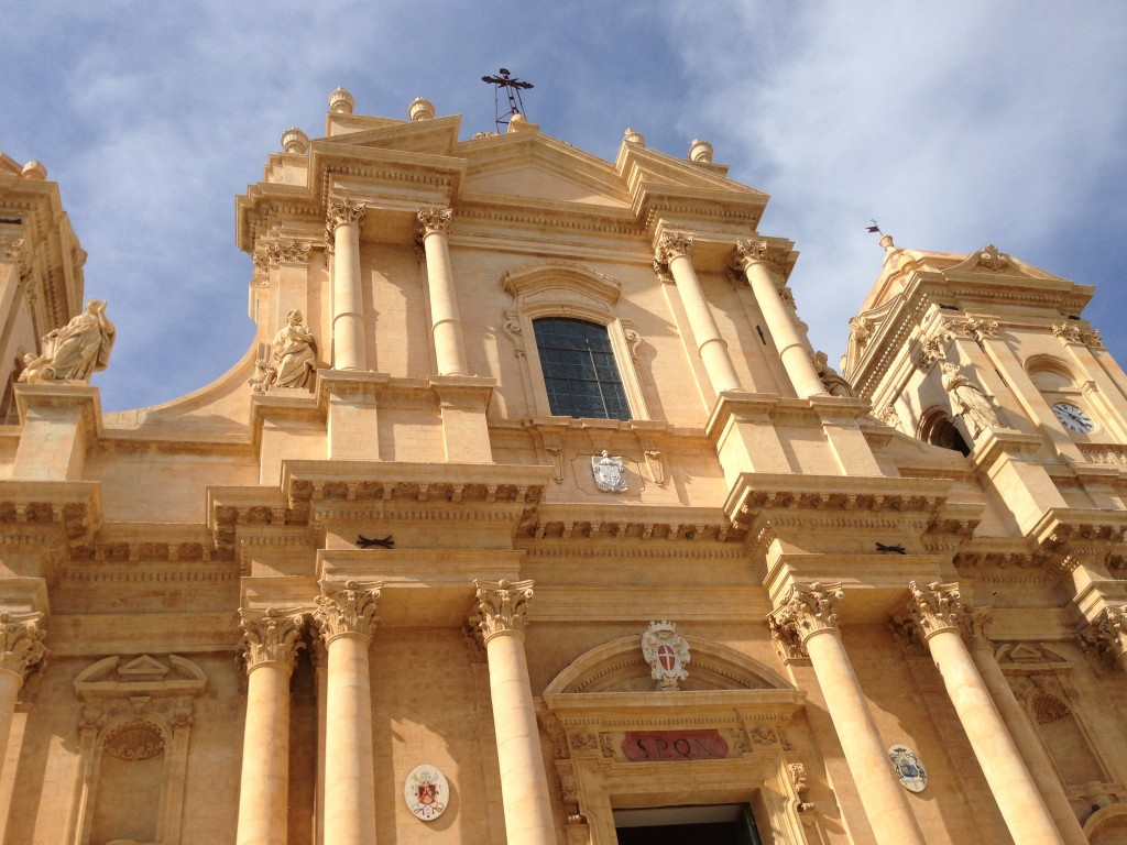 Spanish baroque architecture in Noto, Sicily