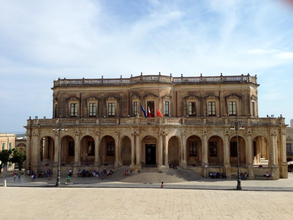 baroque architecture noto sicily