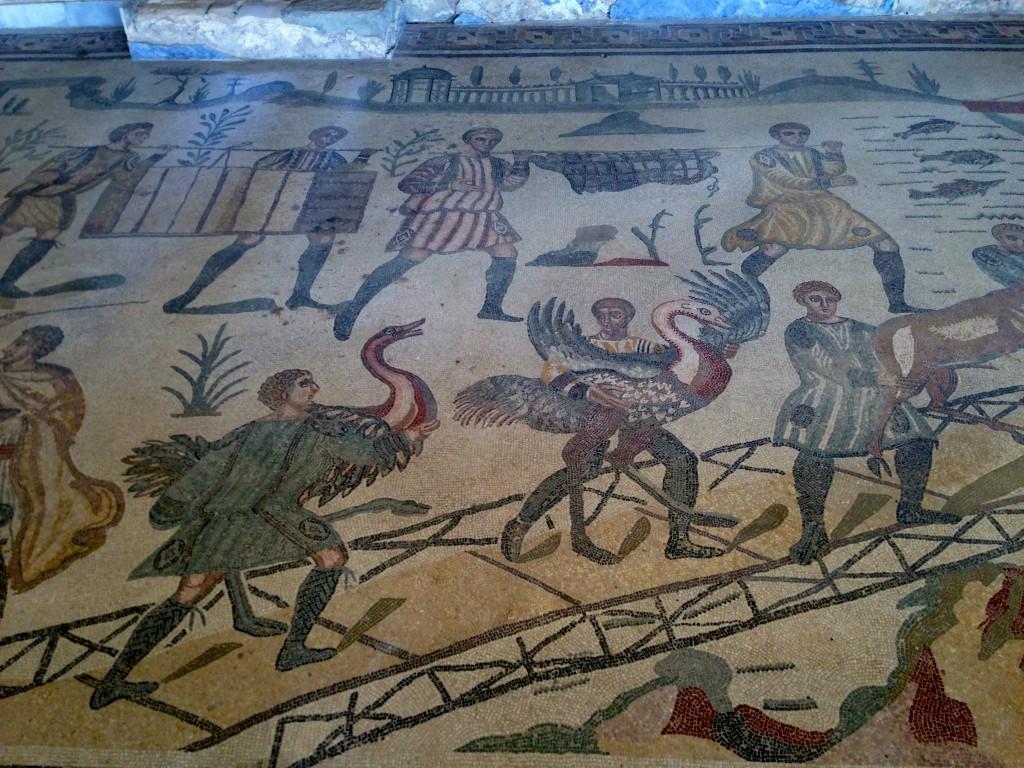 mosaic floor villa romana del casale sicily