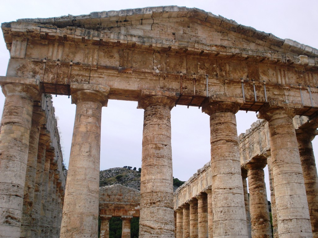 Greek temple at Segesta Sicily