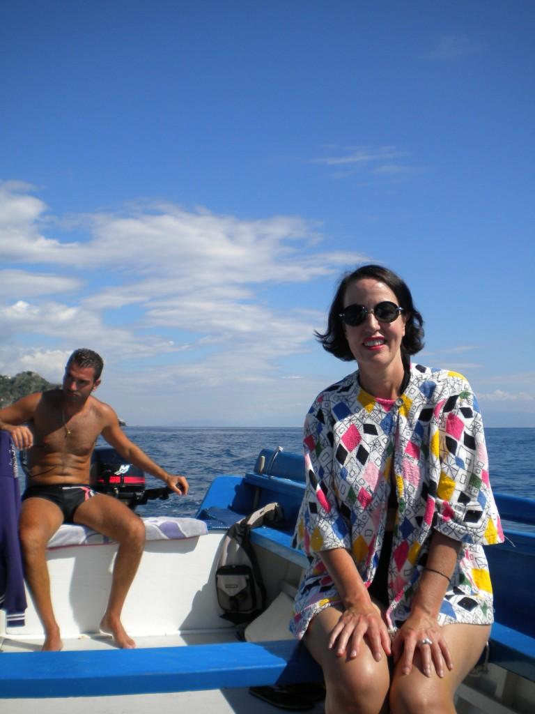 Taormina boat trip 11
