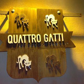 Quattro Gatti in Ragusa Ibla Sicily