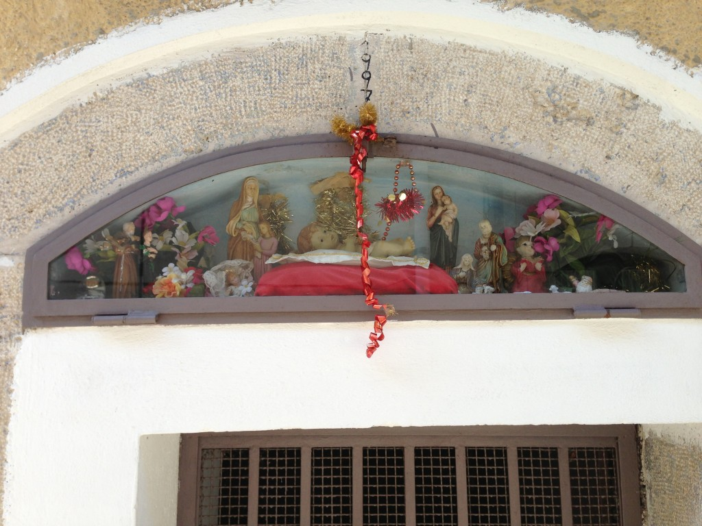 street shrine Controne Campania Italy