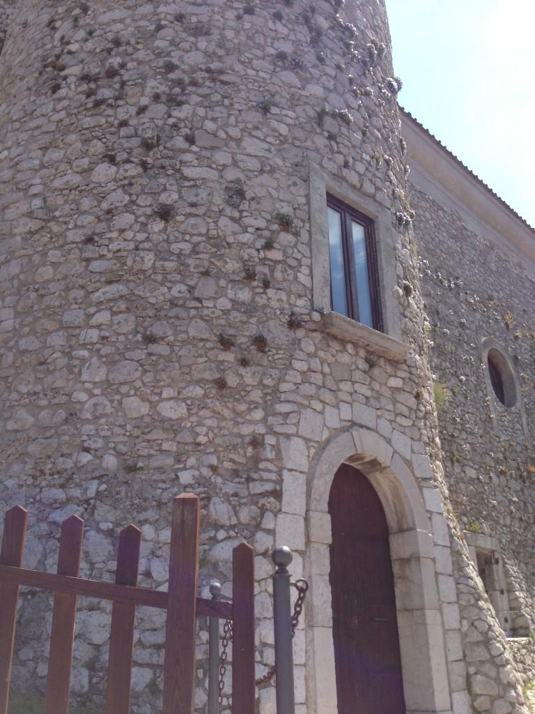 Norman castle Controne Campania Italy