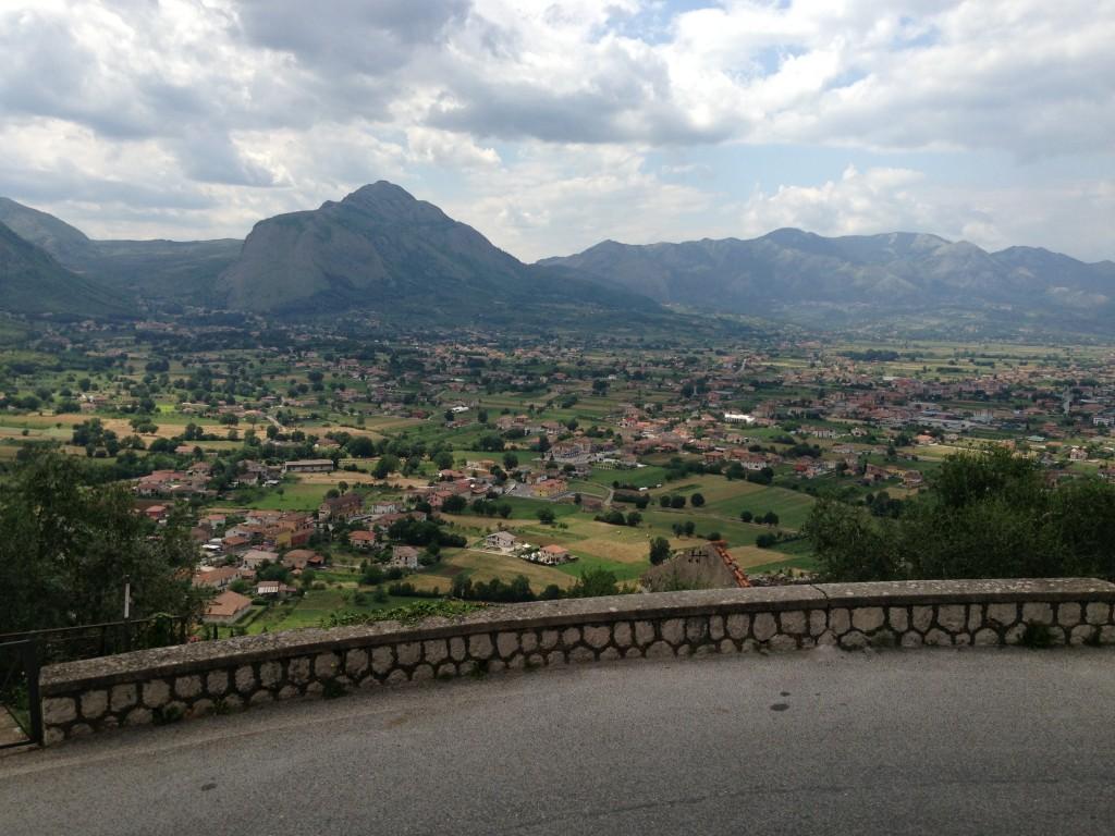 Views from Teggiano Campania Italy