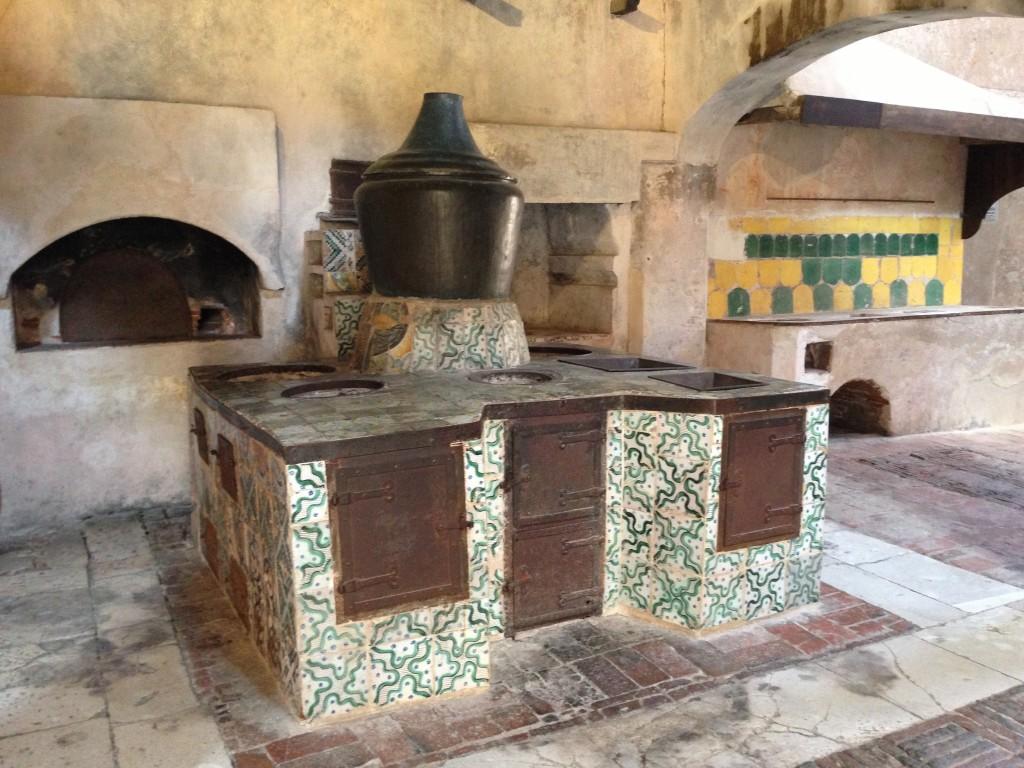 kitchen  Certosa di San Lorenzo in Padula, Italy