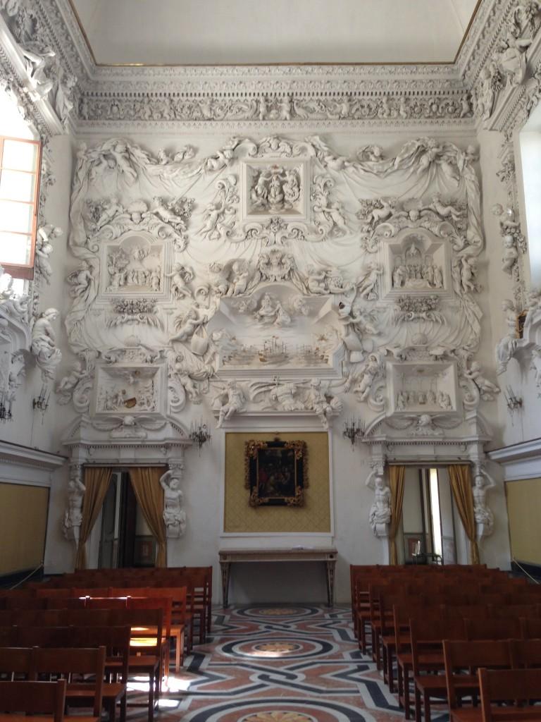 Oratorio del Rosario in S.Cita, Palermo, Sicily