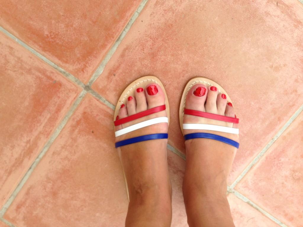 handmade sandals Lipari Sicily
