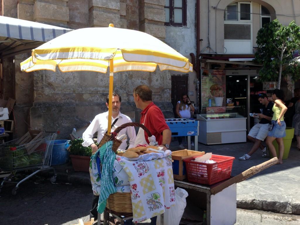 street food Palermo Sicily