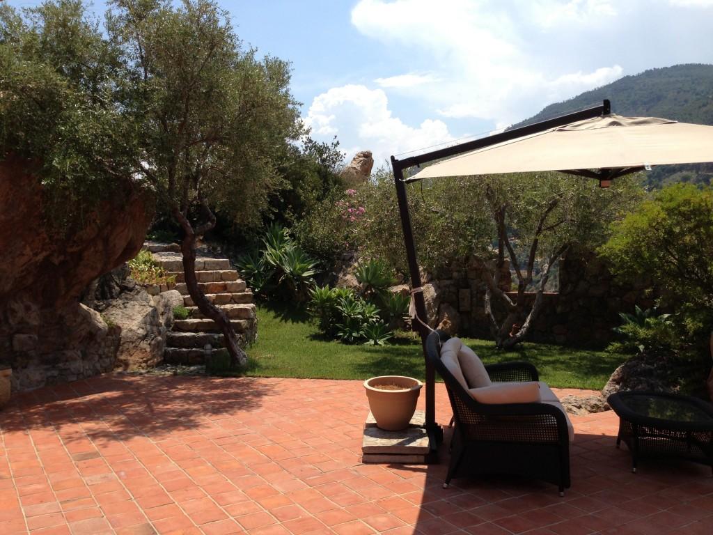 terrace Il Gabbiano villa Cefalu
