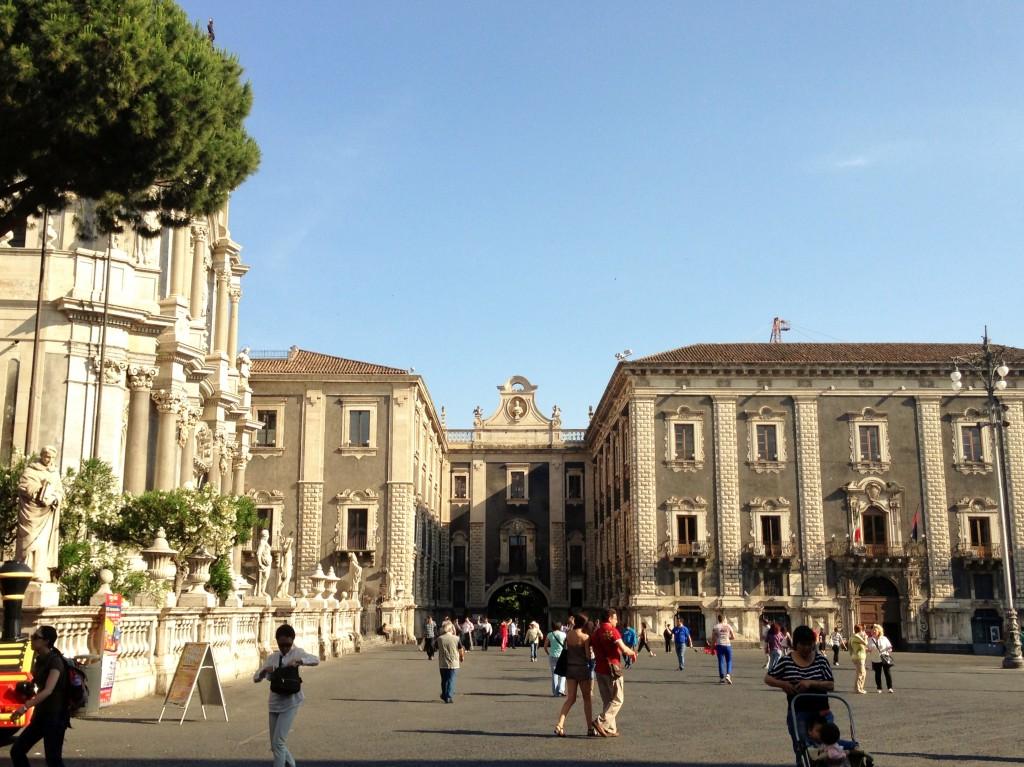 Piazza Duomo Catania Sicily