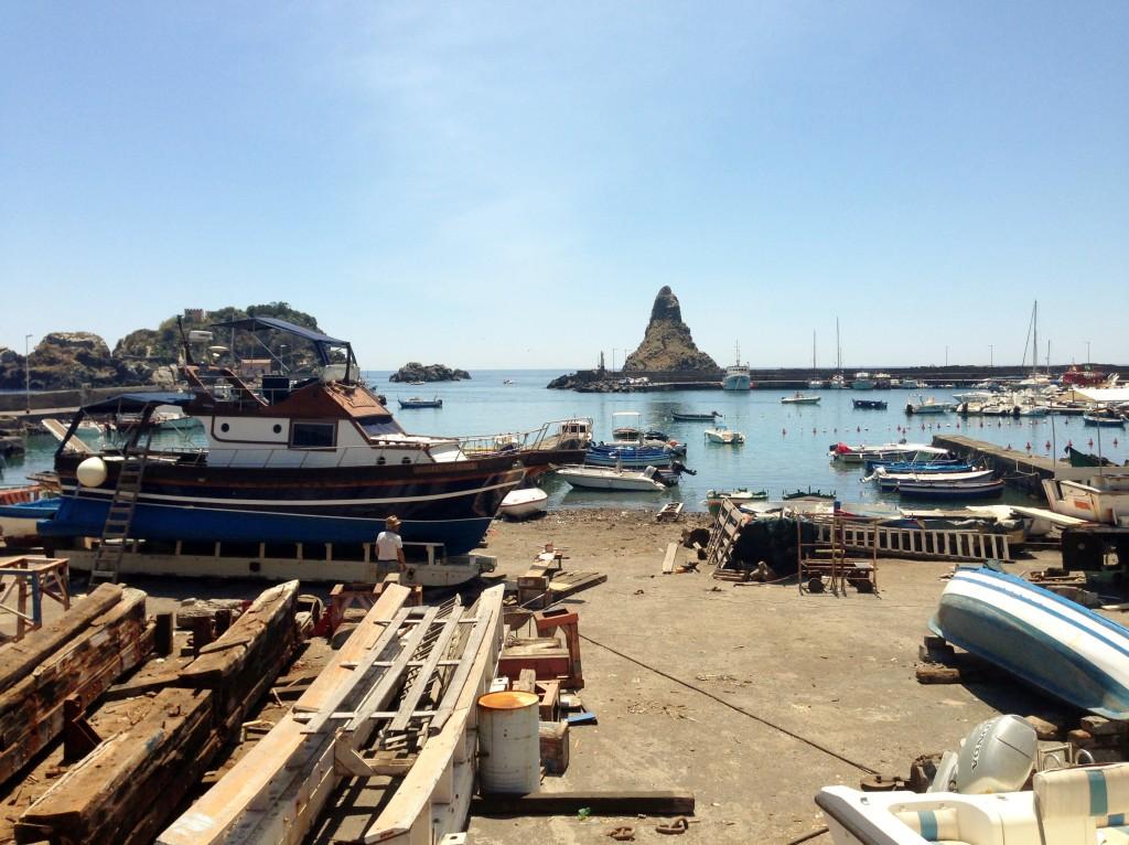 Aci Trezza harbour