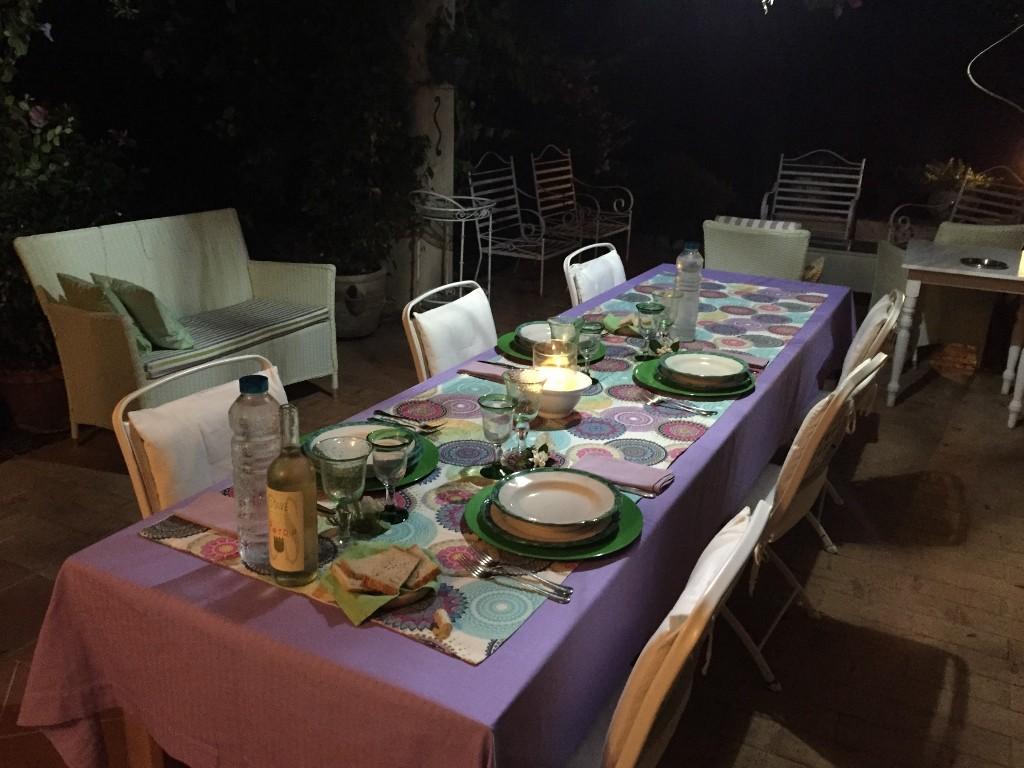B&B Le Chiane Maratea dining