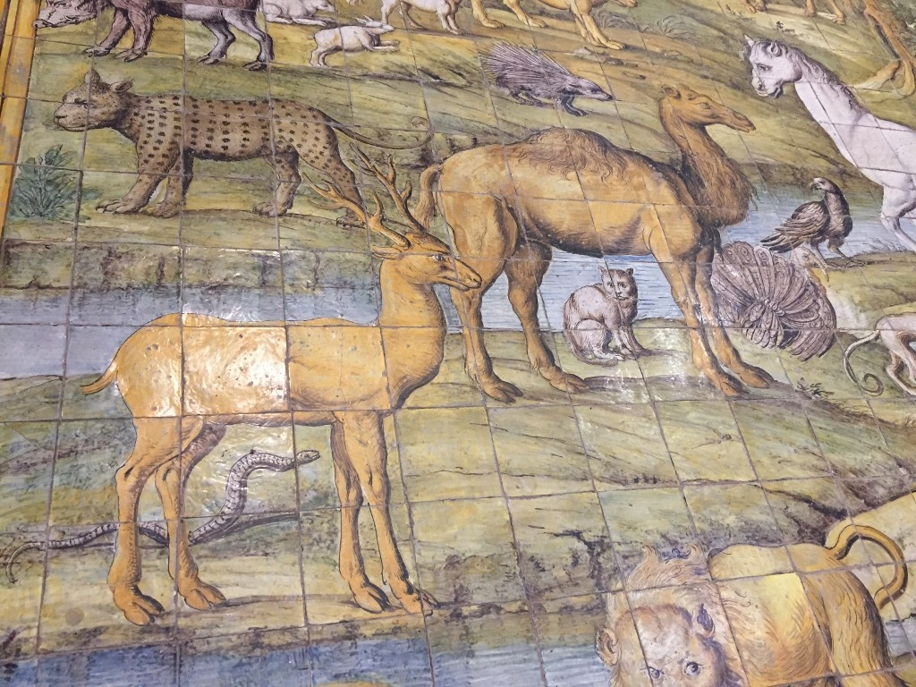 chiesa di san michele archangelo anacapri capri majolica tiles