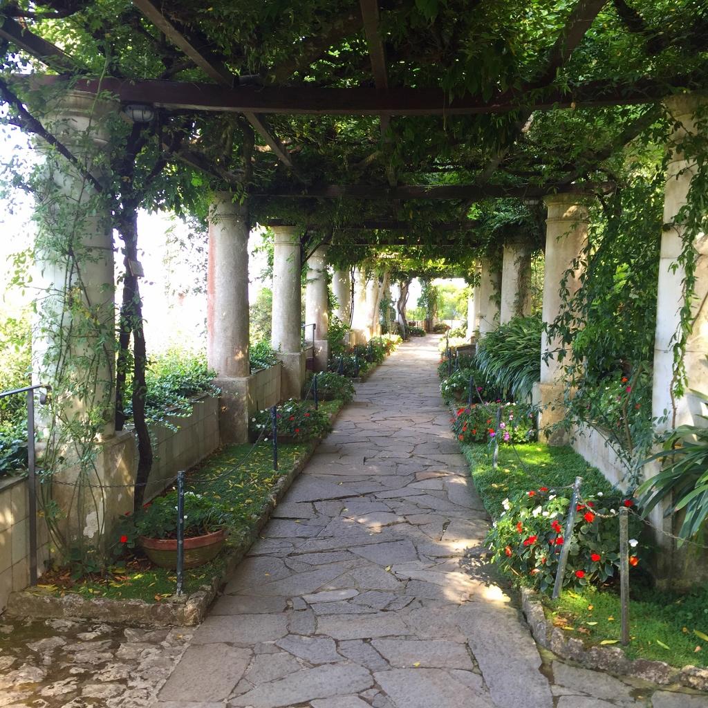 garden of villa san michele anacapri capri