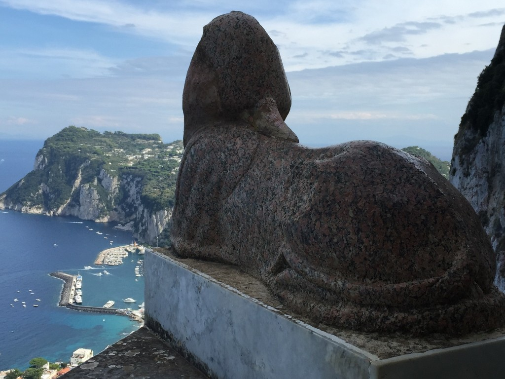 view from villa san michele anacapri capri