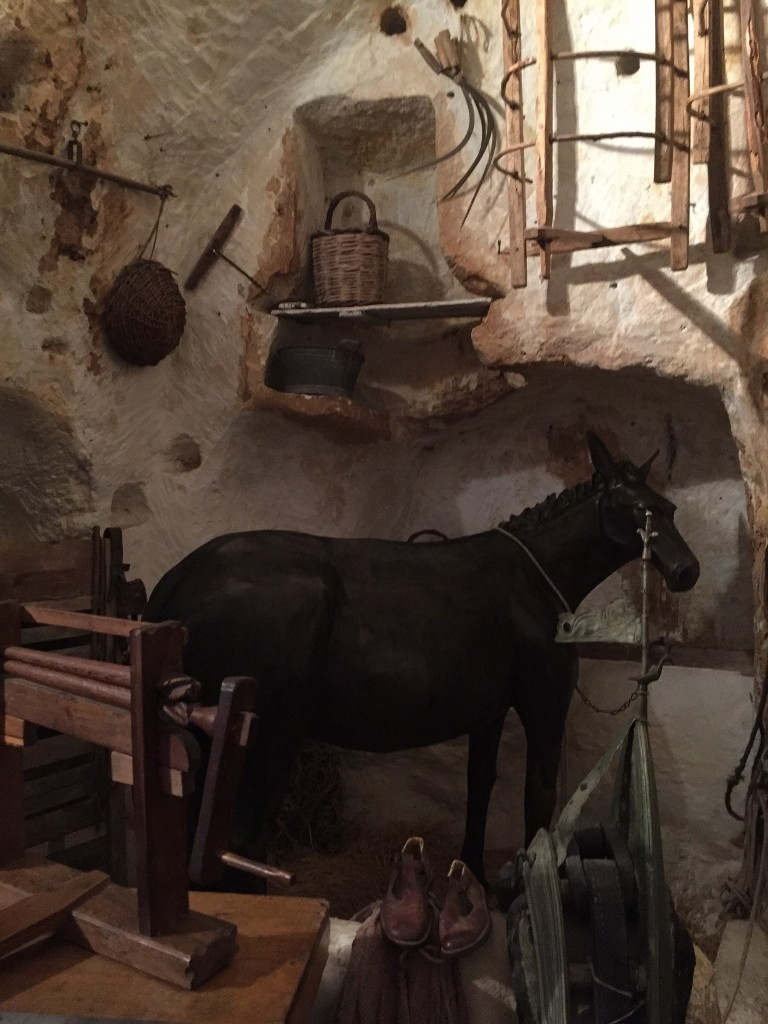 Matera cave house