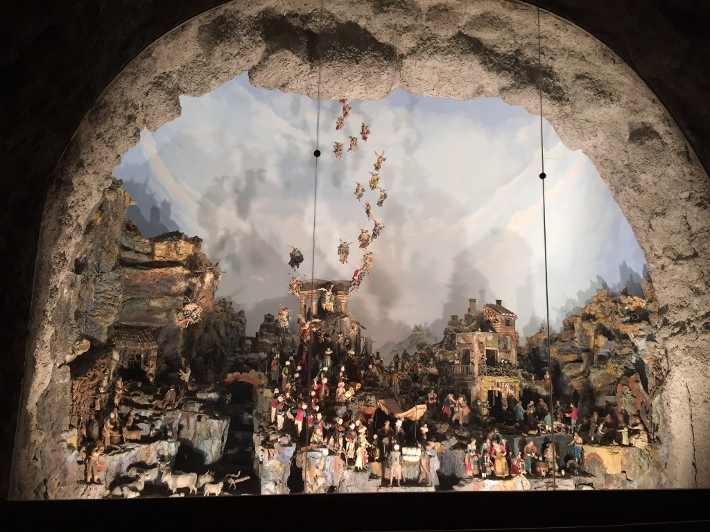 Presepe in Museo di San Martino Naples