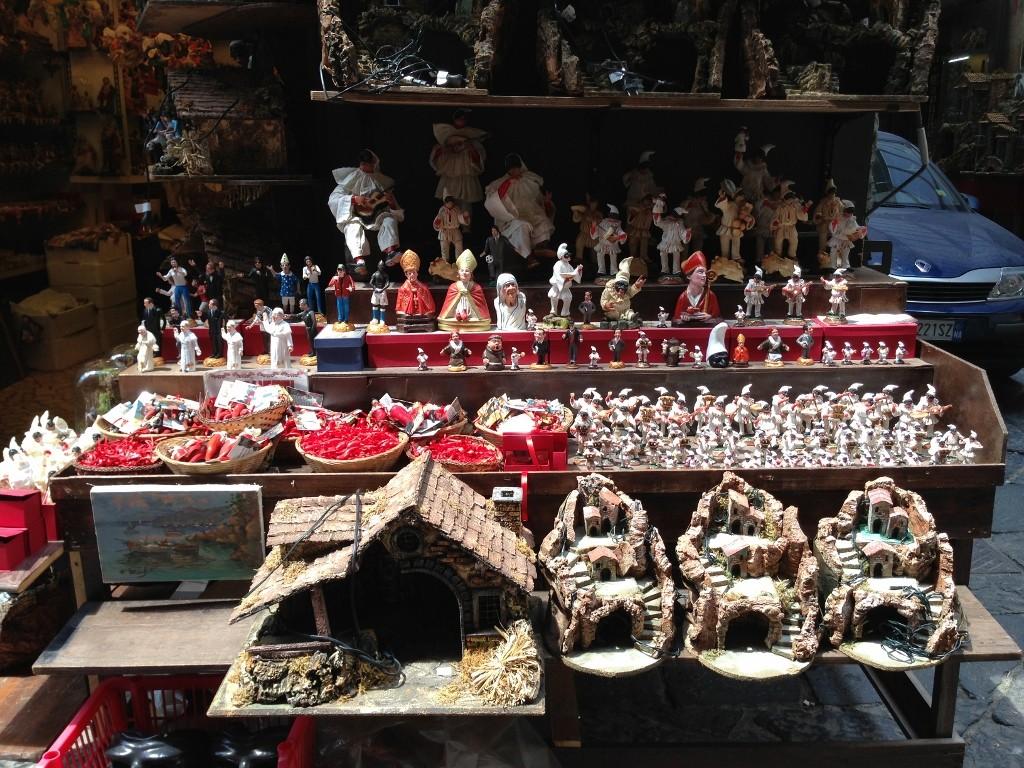 Presepe shop Via San Gregorio Armeno Naples
