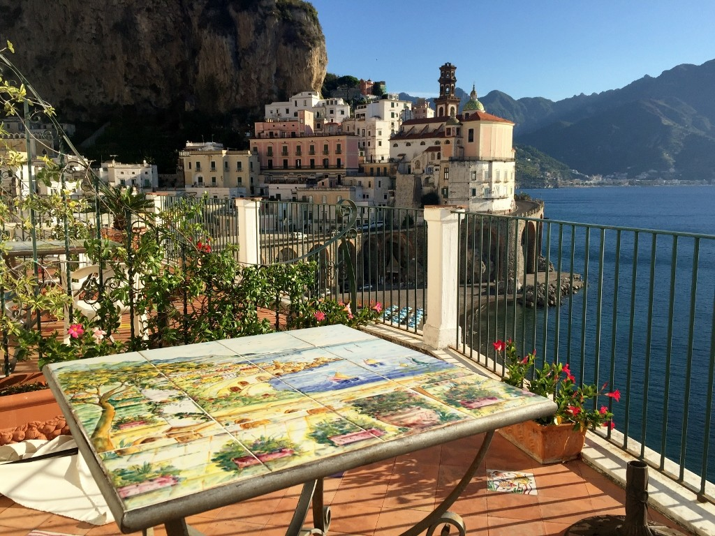 Eva rooms, Atrani, Amalfi coast