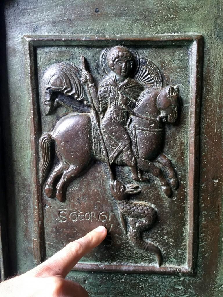 Saint George and the Dragon, Ravello