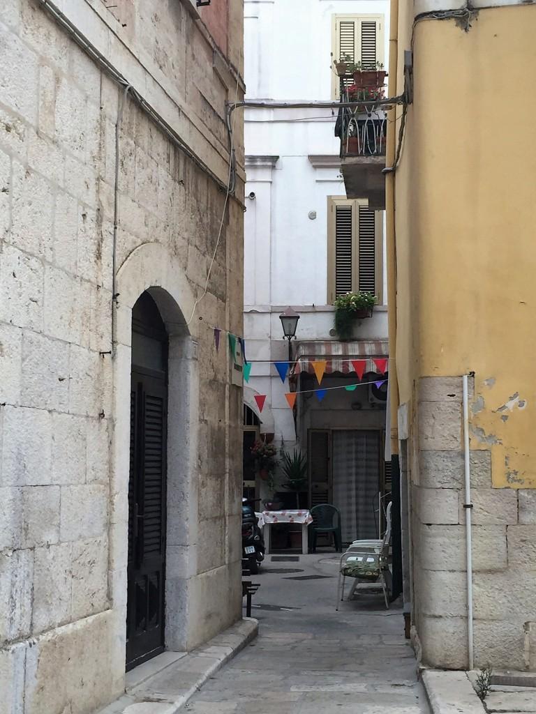 Trani backstreets