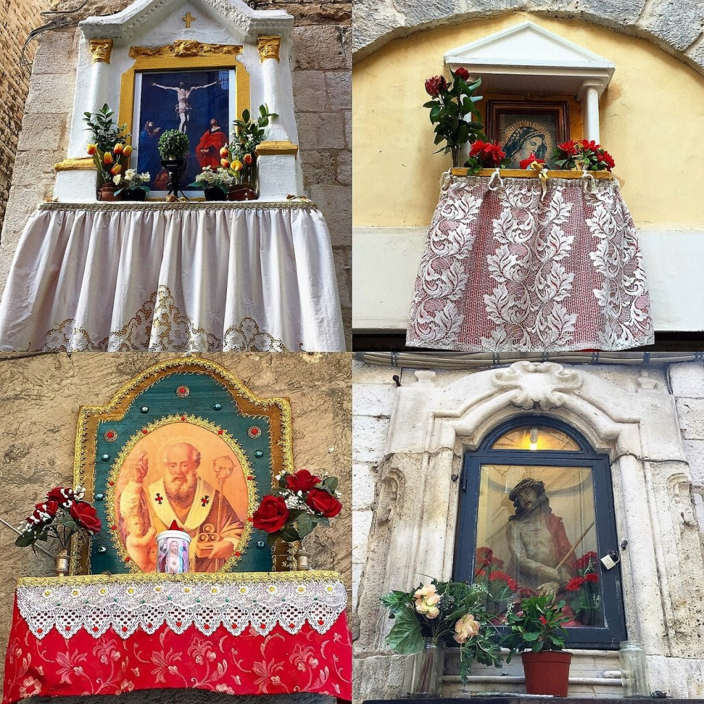 street shrines in Trani