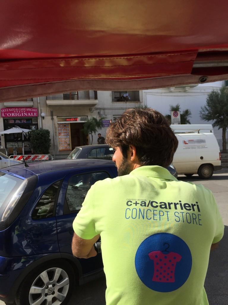 rickshaw, Polignano a Mare, Puglia