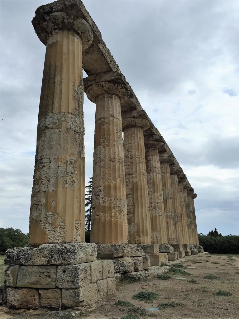 Greek temple at Metaponto