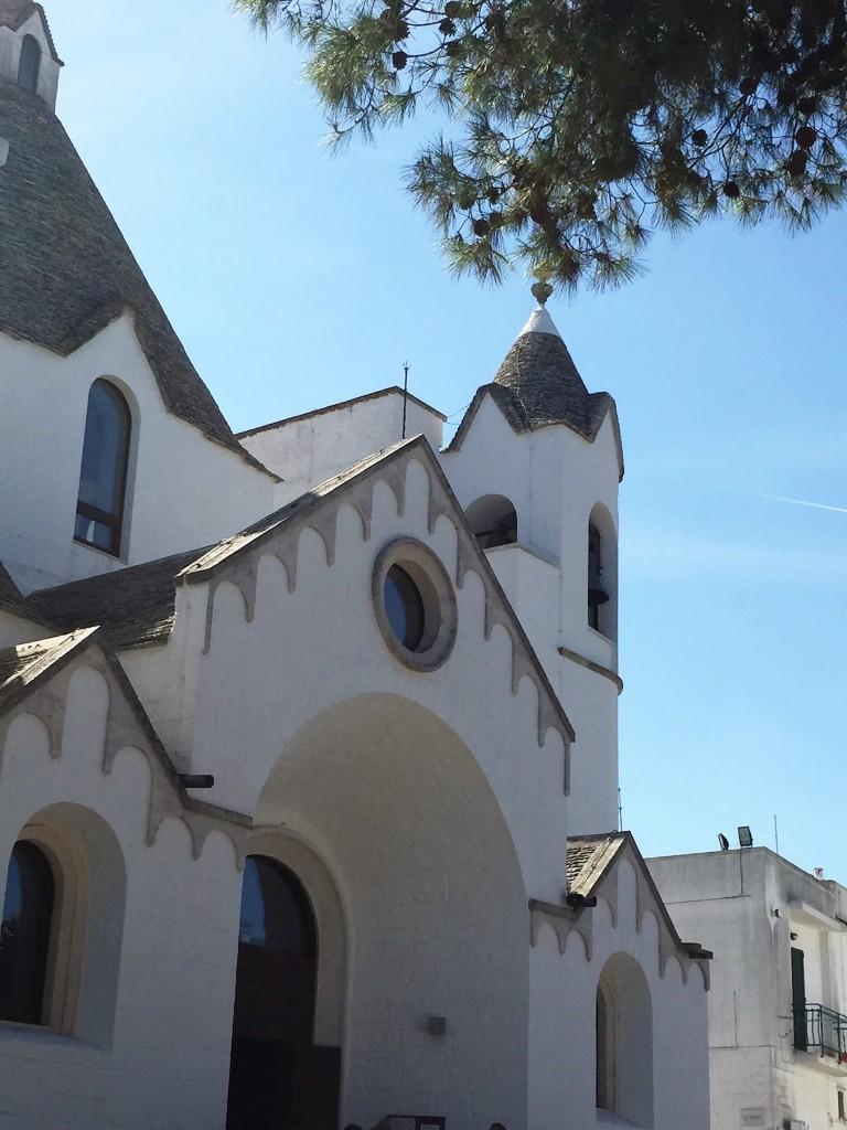 Trullo church, Alberobello, Puglia
