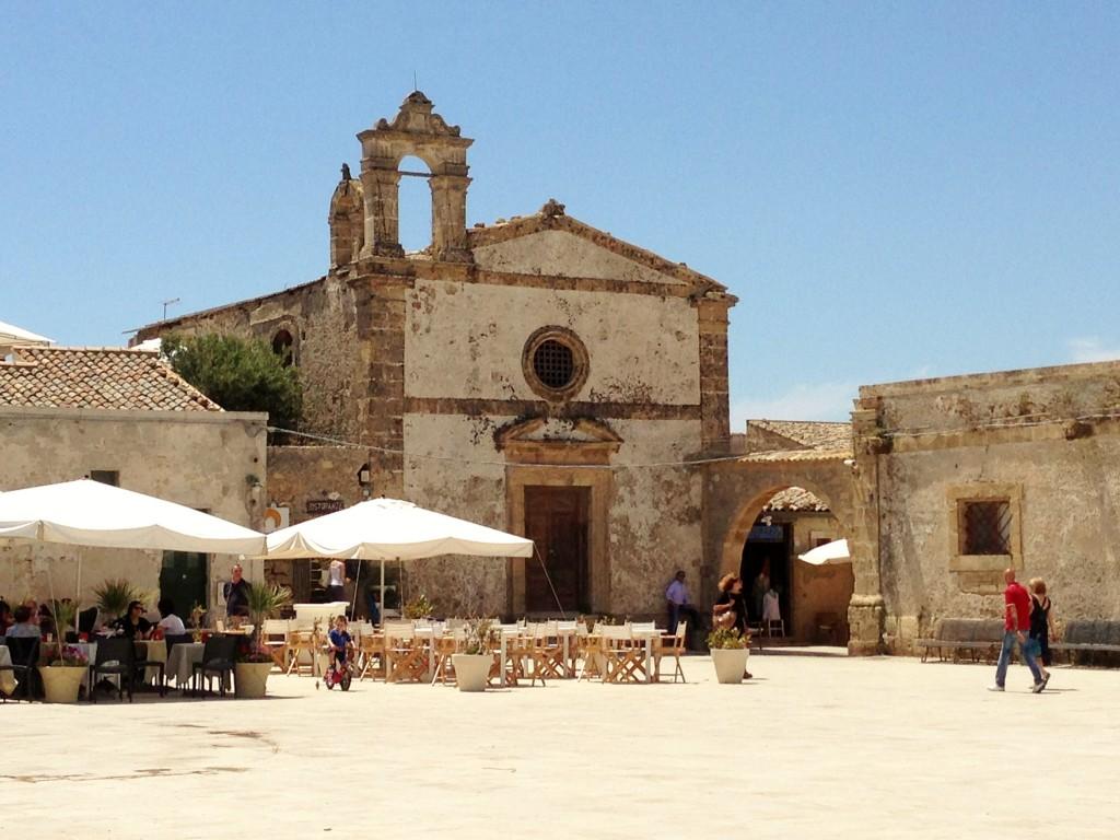 Piazza Marzamemi Sicily