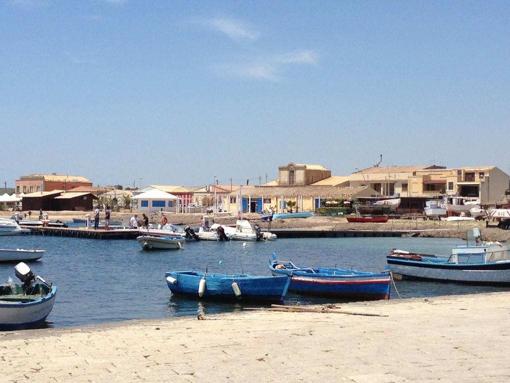 Marzamemi harbour Sicily