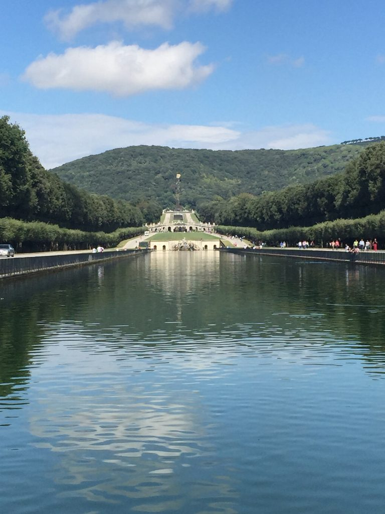 The gardens at Reggia di Caserta