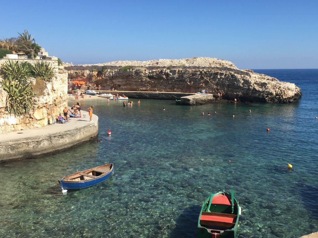 Cala Paula Polignano a Mare Puglia
