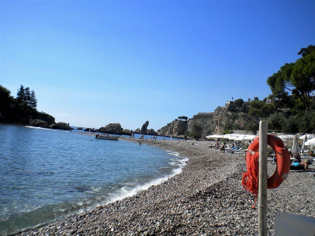 Isola Bella beach Taormina