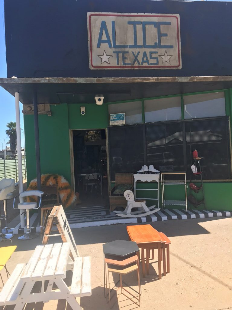 Alice Texas vintage store Alice Springs