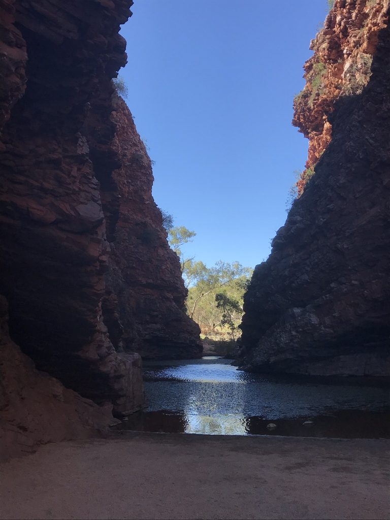 Waterhole at Simpson's Gap Alice Springs