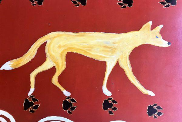 dingo painting
