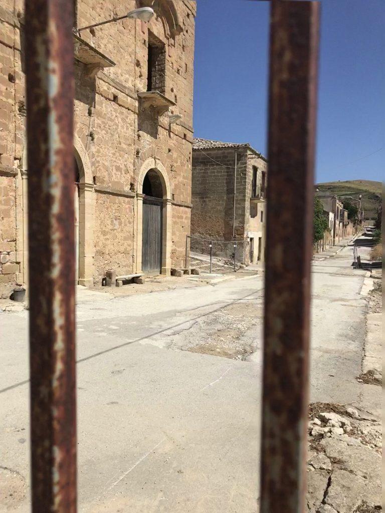 Gates at Poggioreale vecchia, Sicily